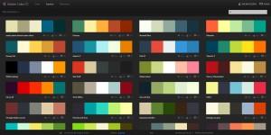 Combinación colores Adobe